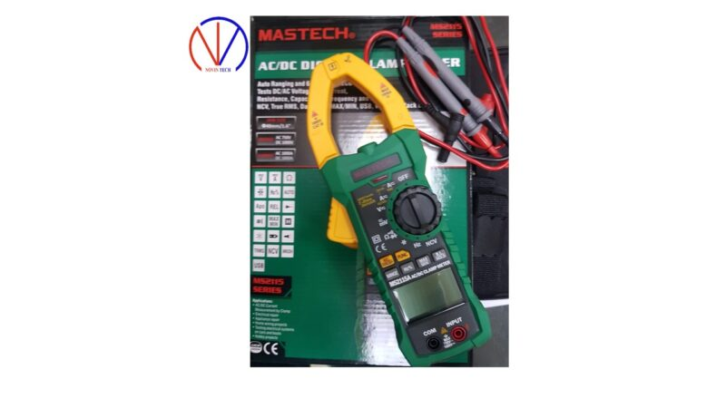 مولتی متر کلمپی ماستک مدل Mastech MS2115A