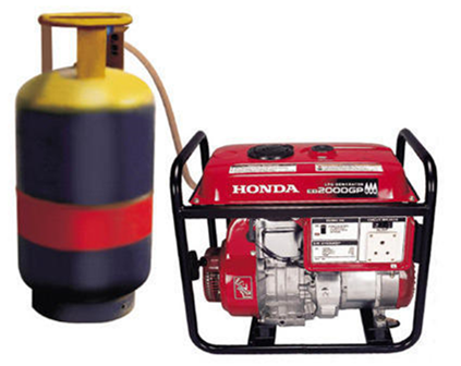 موتور برق گازی هوندا