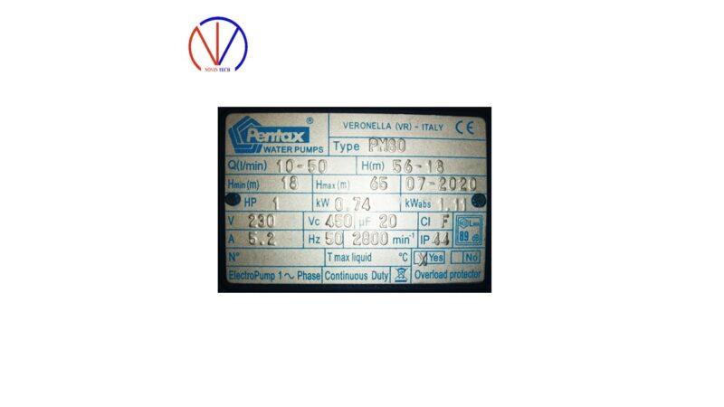 پمپ محیطی پنتاکس ایران PM80-IR